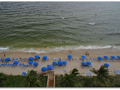 Beach Chairs and Umbrellas provided complimentary on your private resort beach