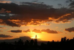Amazing sunsets from the lanai... no extra charge!