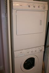Waikiki condo photo - Front Loading Washer and Dryer inside Condo