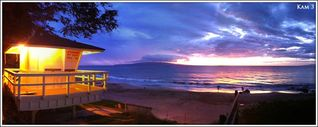 Kihei cottage photo - Kameole 3 beach sunset