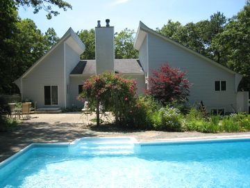 East Hampton house rental - back view