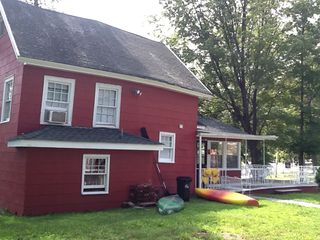 Side view. Approx half acre of land - Greenwood Lake house vacation rental photo