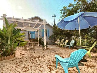 Fort Myers Beach cottage photo - Front of house from Estero Blvd. (small main road of the town)
