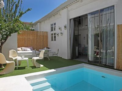 House in Barcelona with Internet, Pool, Air conditioning, Washing machine (411753)