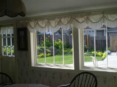 Pacific Grove house rental - Kitchen window