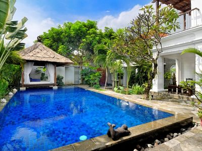 Great Family Villa with Pool Fence - Seminyak beach