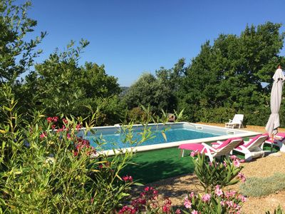 COUNTRY HOUSE WITH POOL BONNIEUX Luberon