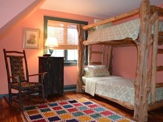 Lake Placid cabin photo - Guest Bedroom with Bunks