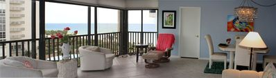 Open floor plan with breathtaking views of the Gulf of Mexico