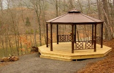 Gazebo which is now totally furnished.  New picture soon.