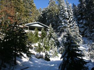 Pollock Pines cabin photo - Winter Wonderland !