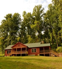 Luray cabin rental - Welcome to 'A Buck's View.' We proudly sleep six!