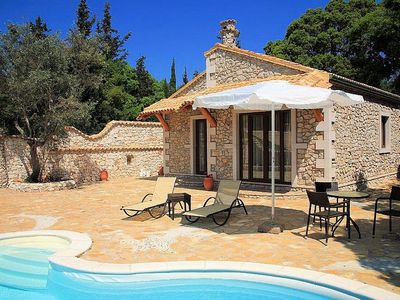 Paxi (Paxos) villa rental - Totally private cottage with pool
