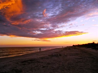 Caution! Sanibel sunsets can take your breath away.