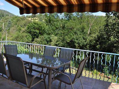 House with garden for 6 persons village near Olargues