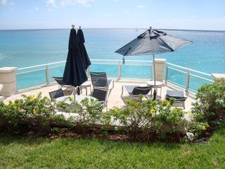 Cupecoy condo photo - My favorite spot near the pool!