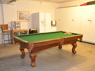 Las Vegas house photo - Pool Table in garage converted to gameroom