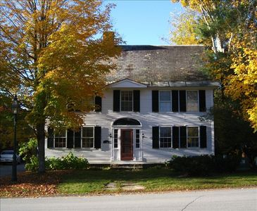 The Parsonage is at the heart of the historic village of Grafton, Vermont