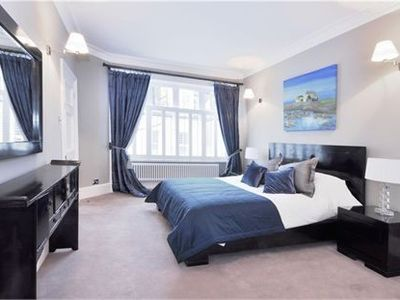 Stunning master bedroom with en suite