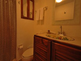 Playa del Carmen condo photo - Talavera sink in master bath.