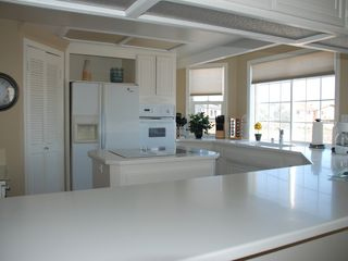 Oxnard house photo - Spacious kitchen with breakfast bar, cooking island and walk-in pantry.