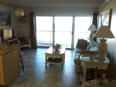 Sandpiper Dunes Ocean City condo rental - View of Family Room from Kitchen #1