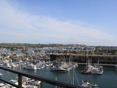 Marina del Rey condo rental - Spectacular, unobstructed views overlooking the Marina and Ocean