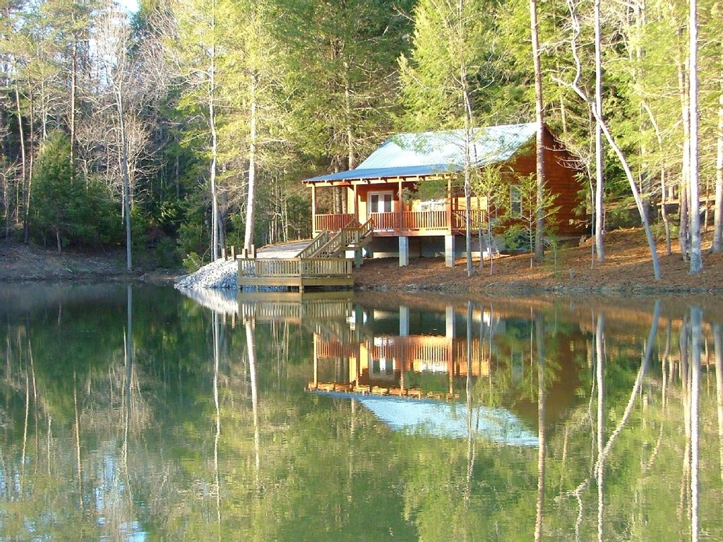 Secluded Romantic Cabin Rental For Homeaway Muddy Pond