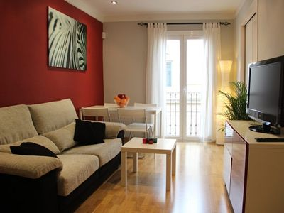 Barrio Gotico apartment rental - Lounge / Diner. FREE WIFI and AIR CON