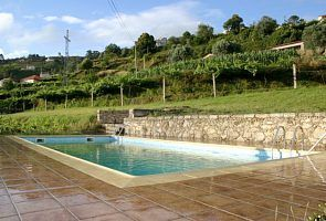 Ponte de Lima cottage rental - Shared Pool