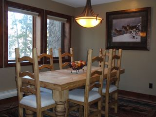 Park Place Breckenridge condo photo - Dining Room w/Seating for Six
