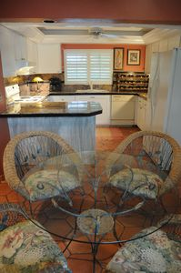 Fort Myers house rental - bistro style dining