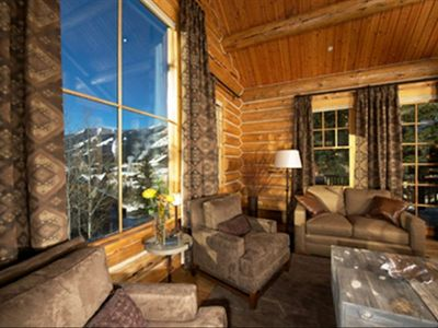 Stunning views Teton Village Center, Jackson Resort ski mountain, aerial tram