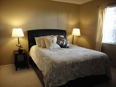 Osage Beach condo rental - Guest Bedroom w/Queen Bed with Memory Foam Mattress