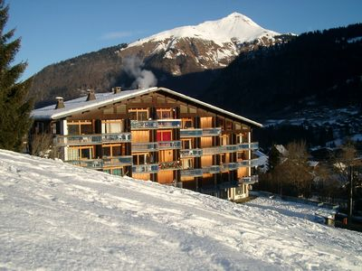 Morzine-Avoriaz apartment rental - View from Piste B