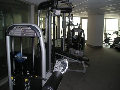 Fitness Room - Overlooking the Gulf