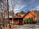 Curbside View of Cabin - Pigeon Forge cabin vacation rental photo