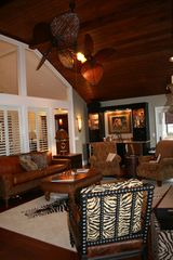 St. Simons Island house photo - Living Room aka: Man Cave
