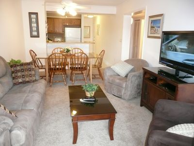 All new carpet, furniture and 42' 3D LED TV in 2012. Dining seats & stools for 8