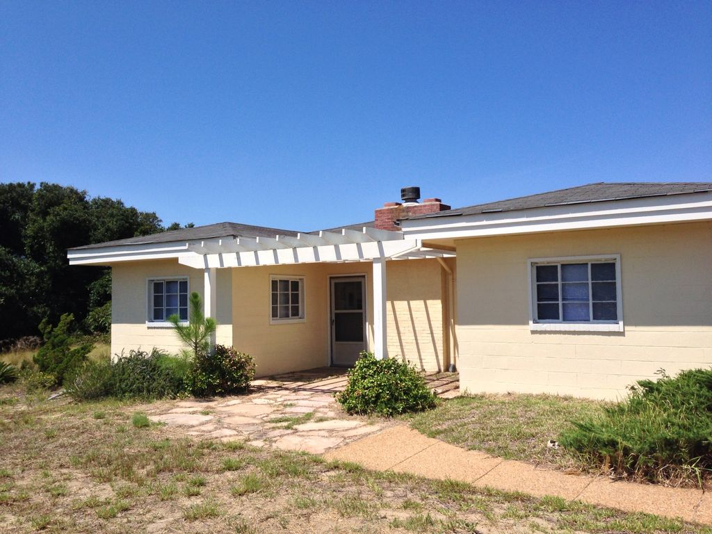 3 bedroom soundfront home in buxton 3 br vacation house for Hatteras cabins rentals