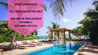 Villa Alma Rosa -  SPECIAL AUTUMN OFFER STAY 7 NIGHTS & PAY FOR 5 ONLY!