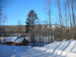 Biwabik house photo - Great views of Giants Ridge Ski Slopes