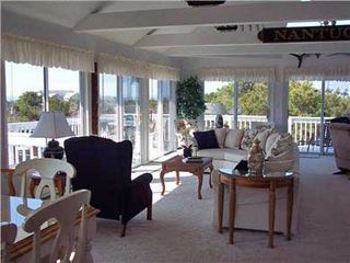 Chappaquiddick house photo - Living Room