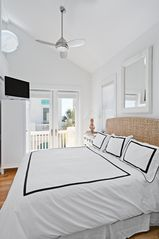 Rosemary Beach house photo - CABANA--Pool-Side Balcony, & One of 5 King Master Suites (w/In-suite Baths)
