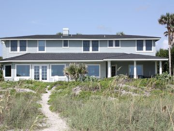 Ponte Vedra Beach house rental - View of house from beach