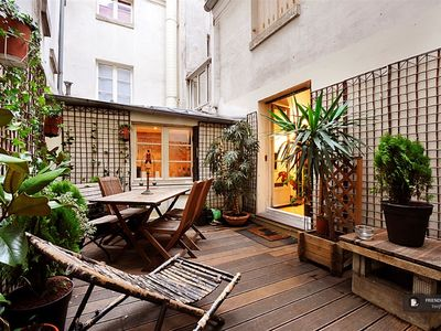 Terrace in the heart of Paris!
