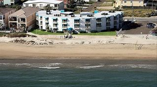 South Padre Island condo photo - View of complex from above the ocean.