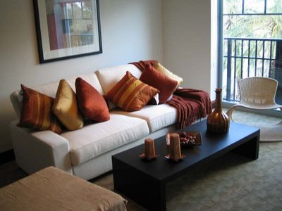 South Beach hotel rental - Comfortable spacious living room