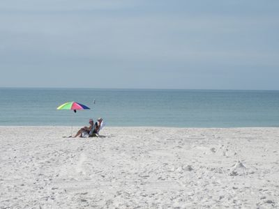 Image yourself relaxing on the beautiful beach every day of your stay.