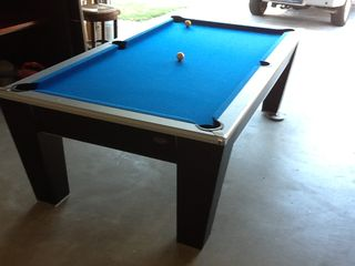 Cathedral City house photo - pool table converts into ping pong table